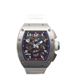RICHARD MILLE RM 011 FELIPE MASSA 18CT WHITE GOLD AND NTPT LIMITED EDITION £129,000.00