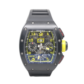 RICHARD MILLE RM 011 FELIPE MASSA TEXAS GRAND PRIX LIMITED EDITION £110,000.00  -  Cheshire Watch Company
