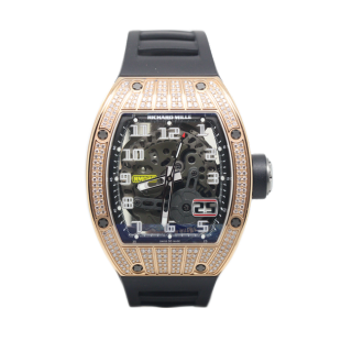 RICHARD MILLE RM 029 18CT ROSE GOLD DIAMOND SET £109,995 -  Cheshire Watch Company