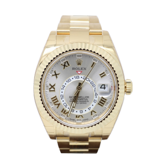ROLEX SKYDWELLER 18CT YELLOW GOLD 326938 £27,995.00 - The Cheshire Watch Company