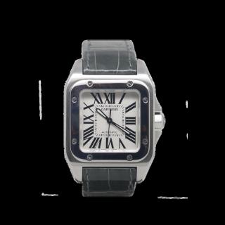 Cartier Santos 100 Steel £2495.00 W20106X8 - Cheshire Watch Company