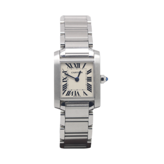 Cartier Tank Francaise Steel W51008Q3 £1995.00 - Cheshire Watch Company
