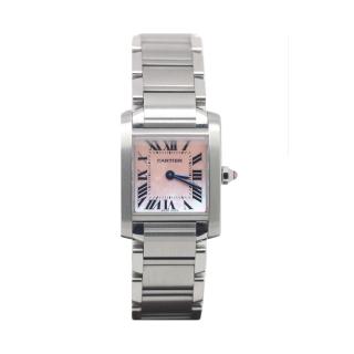 Cartier Tank Francaise Steel W51028Q3 £2295.00 - Cheshire Watch Company