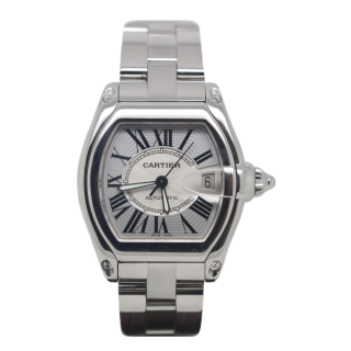 Cartier Roadster Steel £3495.00 W62025V3 - Cheshire Watch Company