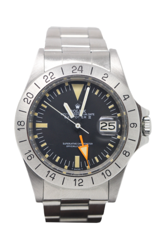 Vintage rolex explorer 2 1655 mk1 steve mcqueen the cheshire watch company the cheshire for Mcqueen watches